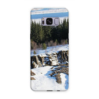 Ice Frozen On Rocky Mountain Phone Case Samsung S8 Plus / Tough Gloss & Tablet Cases
