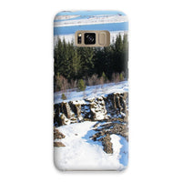 Ice Frozen On Rocky Mountain Phone Case Samsung S8 / Snap Gloss & Tablet Cases