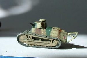 WWF4 Renault FT17 with Octagonal turret