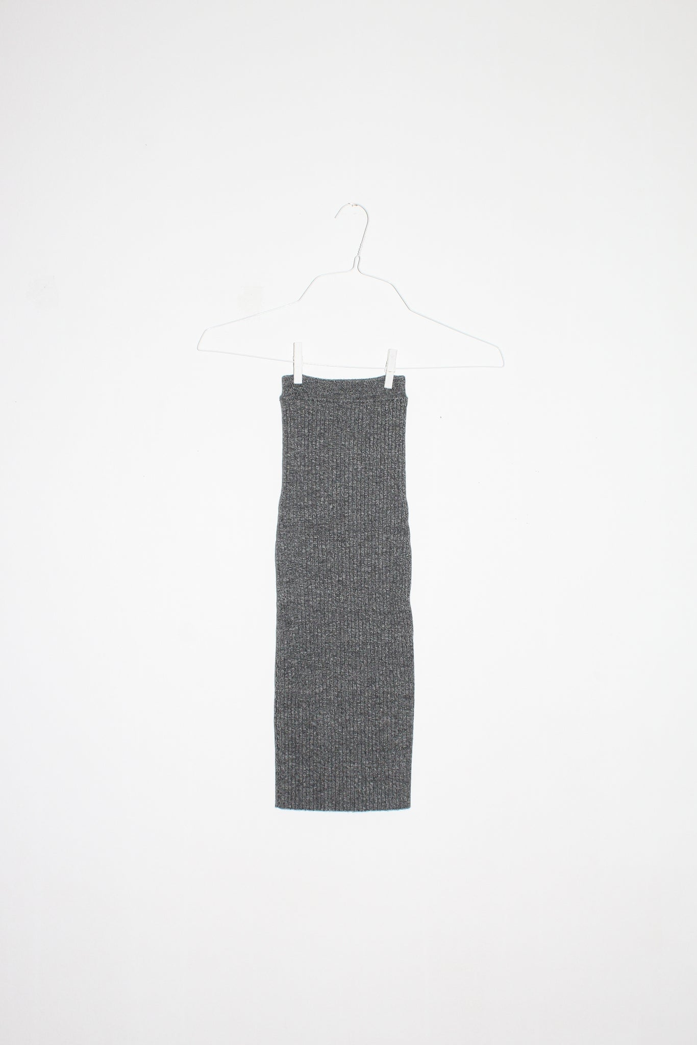 NONNA Tube Skirt in White Noise