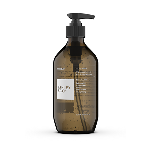 Ashley & Co WashUp Botanical Hand Wash | Tui & Kahili