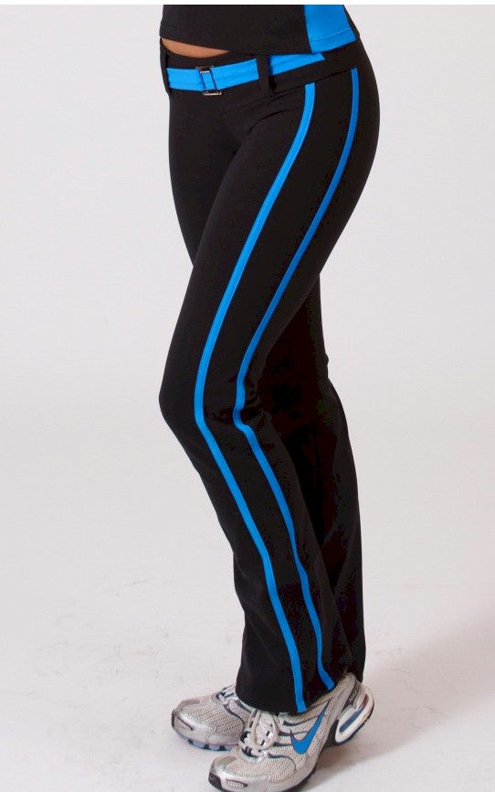Belted Side Stripe Pant by Lino Activewear