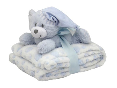 Comforter Bear - Pink or Grey