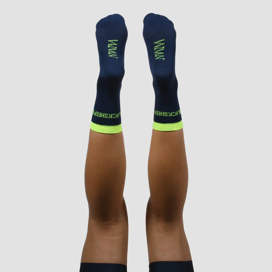 WMN Sock - Fluro Yellow