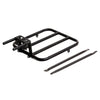 Cargo Rear Rack UNI Moke Swing Electric Bike Carrier Deck Black Chromoly Steel