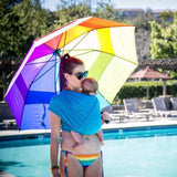 Wrapsody WrapDuO: Sport and Water Wrap Turquoise-Water Carrier-Wrapsody- Little Zen One US Babywearing baby carriers
