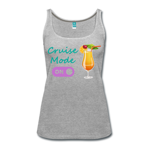Cruise Mode 'On' - Tropical Cruise Women's Tank Top-CruiseHabit