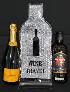 Wine Carrier - Safely Pack Wine or other Bottles in Suitcases or Bags - 2 Pack-CruiseHabit