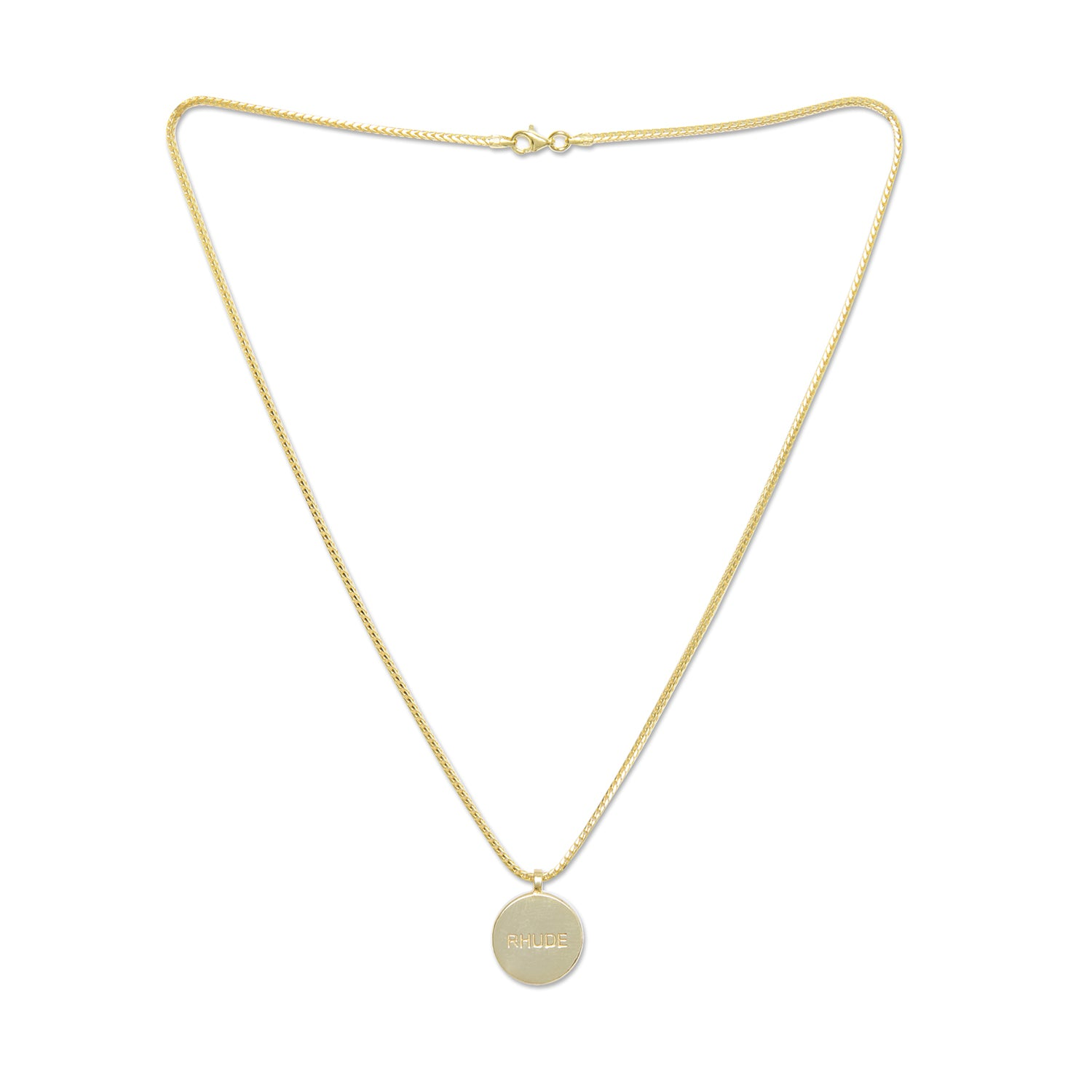 Rhude Necklace Gold 2