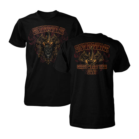Ornate Shield Tour Tee