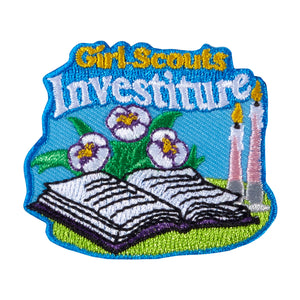 INVESTITURE PATCH - 18124