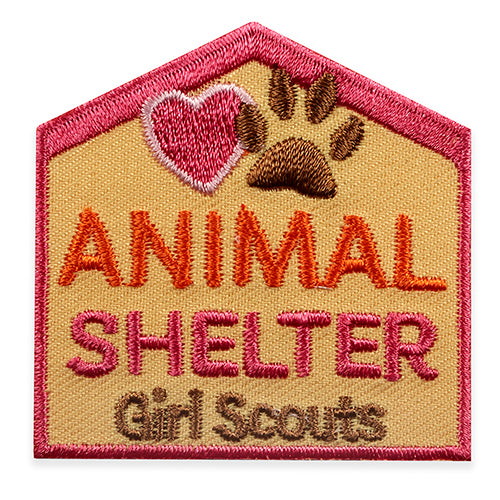 ANIMAL SHELTER PAWS PATCH - 58524