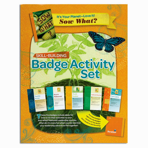 SENIOR YOUR PLANET BADGE SET - 60502