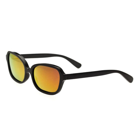 Bertha Harley Buffalo-Horn Polarized Sunglasses - Black/Gold BRSBR004B