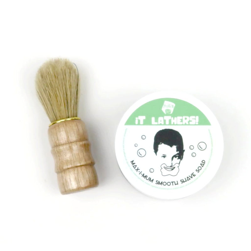 Shave Soap with Brush