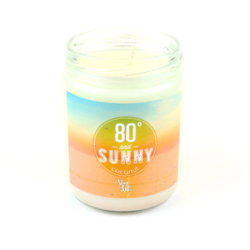 '80 Degrees and Sunny' Soy Wax Candle