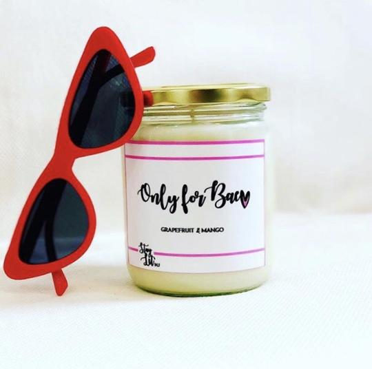 'Only for Bae' Soy Wax Candle