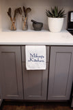 Personalized Embroidered Kitchen Towel