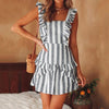 Arianna Striped Dress