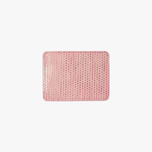 Slim Cardholder Brushed With Monochromatic Metallic
