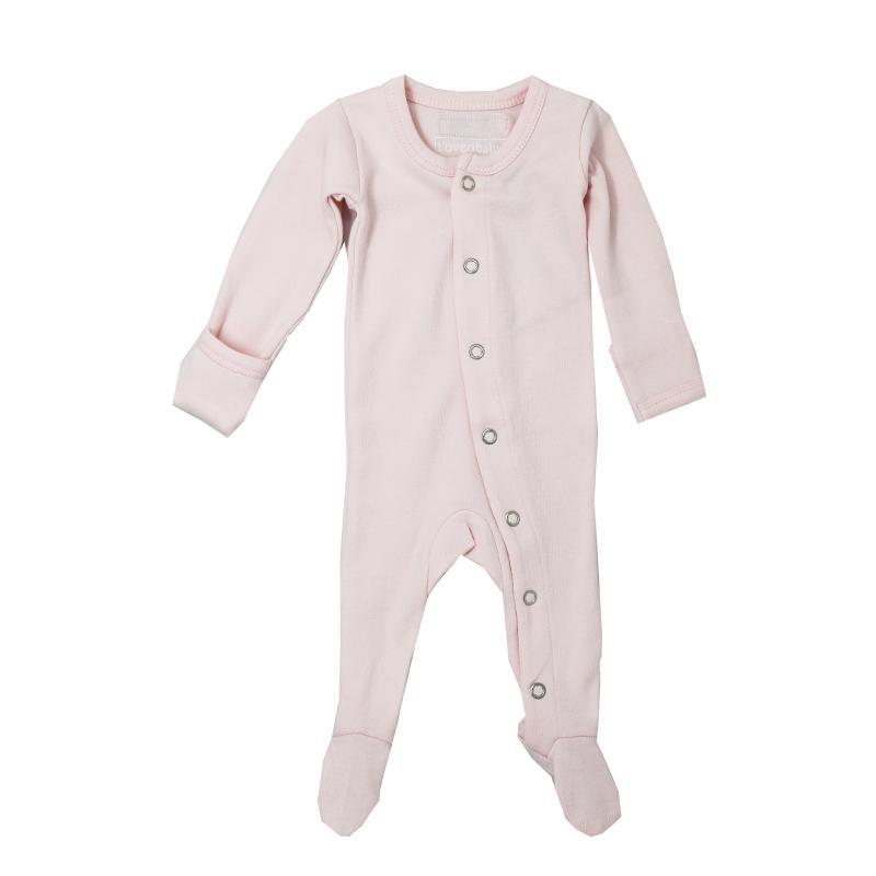 L'oved Baby Blush Organic Footed Overall