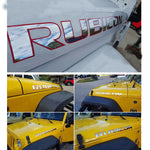 RUBICON DECAL