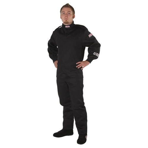 G-Force GR-125 Youth Race Pants - Black