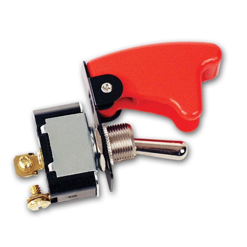 Longacre 2-Terminal HD Ignition Switch with Flip-Up Cover 45470