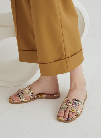 Quinn Flats in Dusty Gold