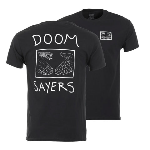 Doom Sayers Club Tee - Snake Shake - Black - Hemley Skateboarding