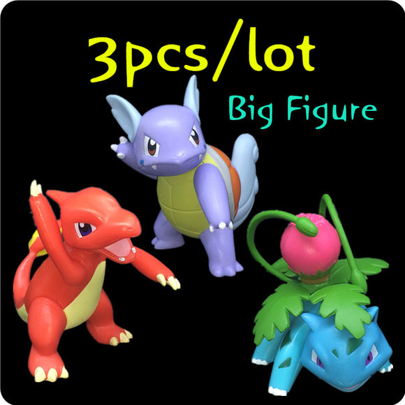 3 Pokemon figures (BIG) - 9figures, Figure, 9figures, 9figures