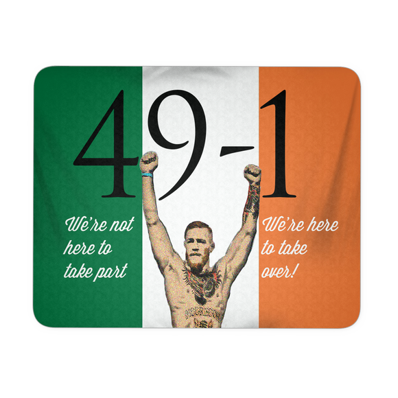 Mousepad - 49-1 (Ireland flag) - 9figures, Mousepads, teelaunch, 9figures