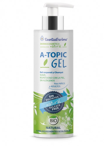 GEL CORPORAL Y CHAMPU ATOPIC GEL ESSENTIAL AROMS