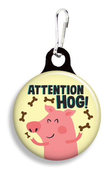 Attention Hog - Fetch Life Pet Outfitters Dog & Cat Collar Clips