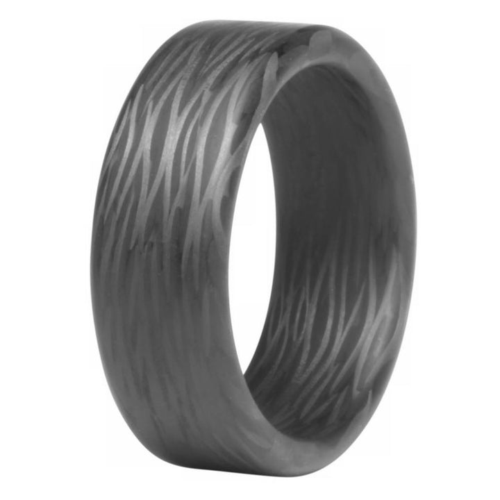 The Wave Carbon Fiber Ring