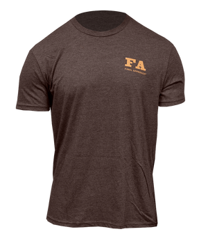 Final Approach Pintail Retrieve Tee, Heathered Brown