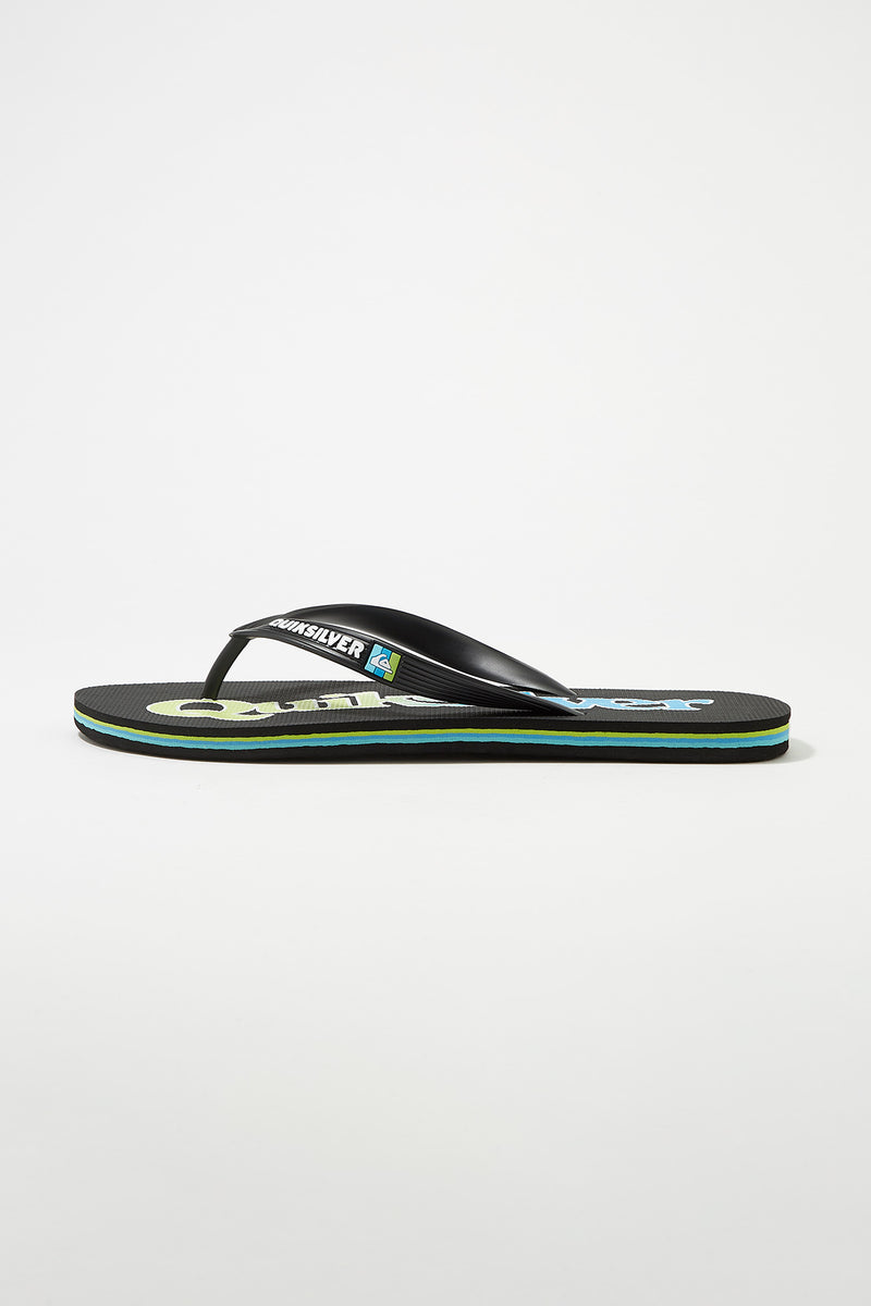 Quiksilver Mens Molokai Wordmark Sandals