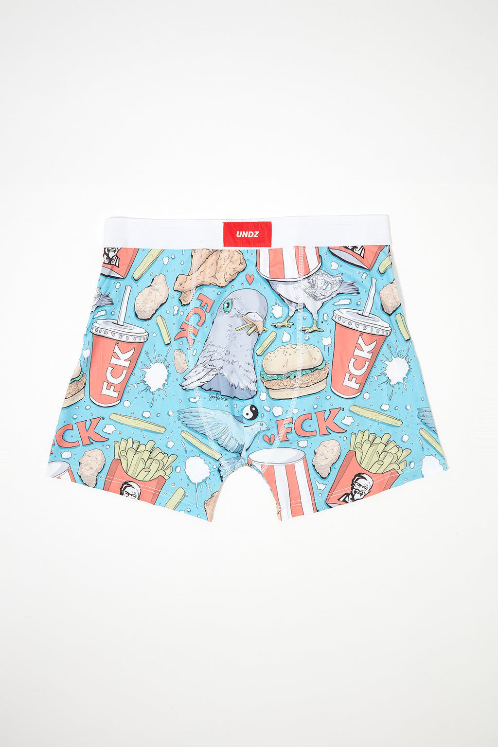 UNDZ Mens KFC Sarah Bean Boxer Brief