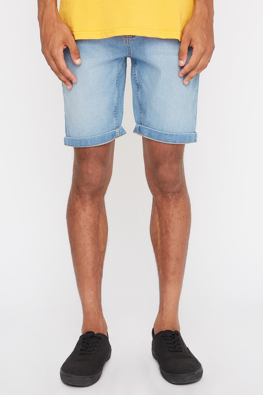 Zoo York Mens 5 Pocket Slim Denim Shorts