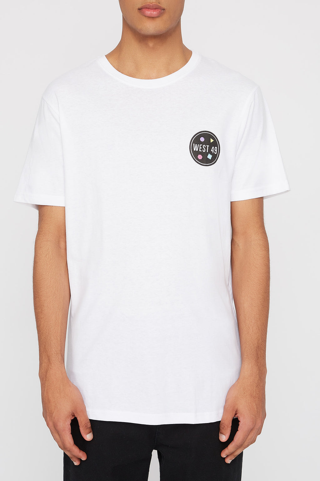 West49 Mens Circle Logo T-Shirt