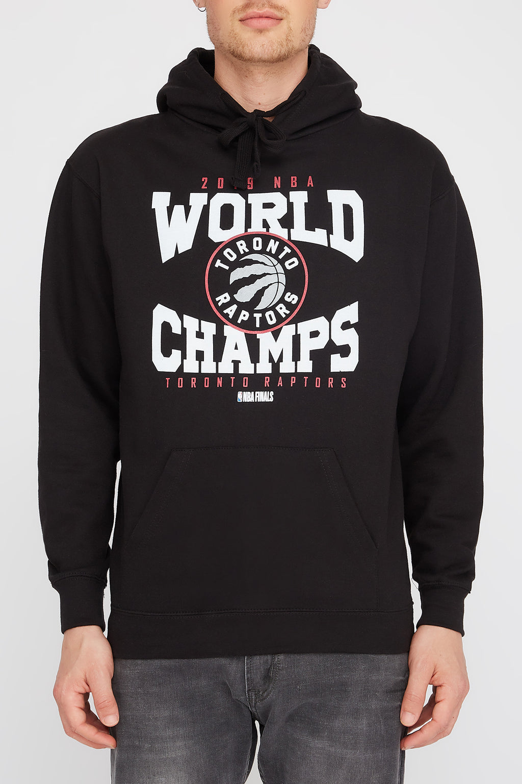 Mens Toronto Raptors World Champs Hoodie