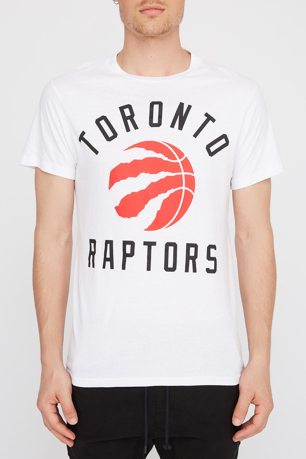Toronto Raptors Mens White Logo T-Shirt