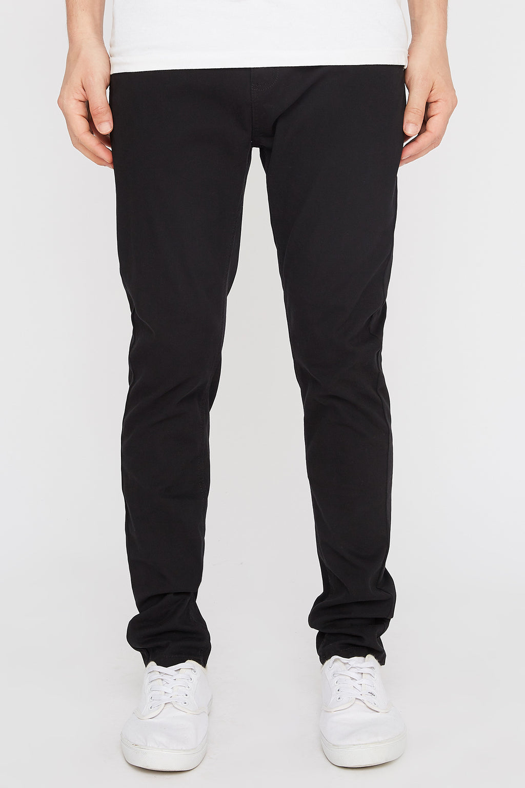 West49 Mens Basic Twill Chino