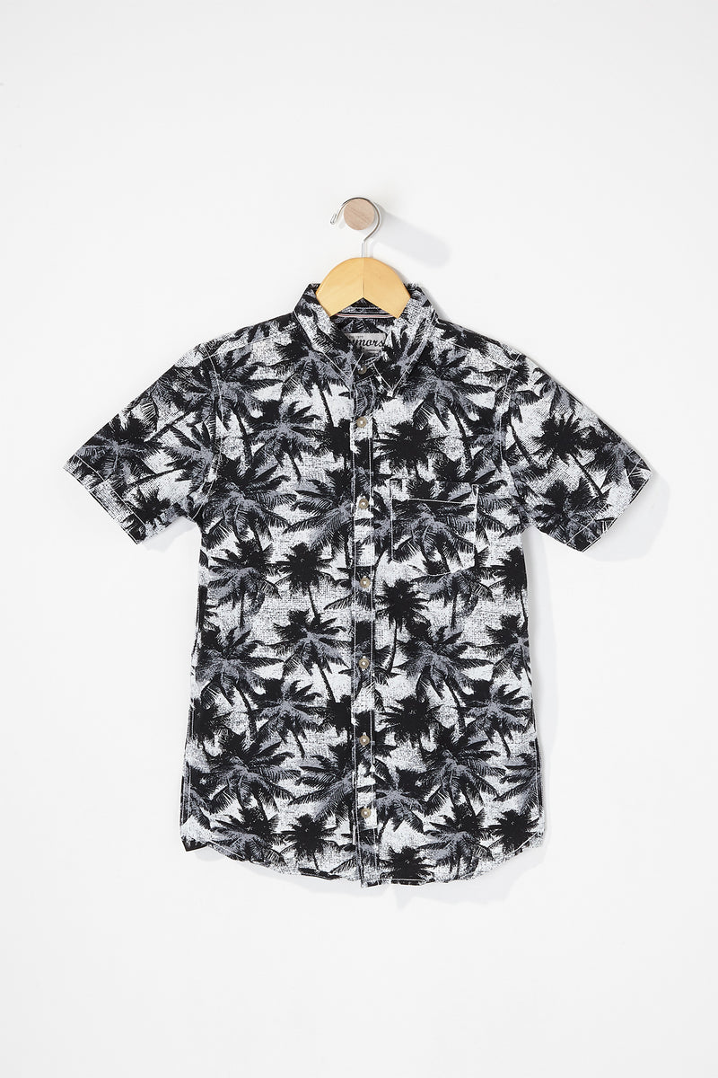 West49 Boys Graphic Button Up Shirt