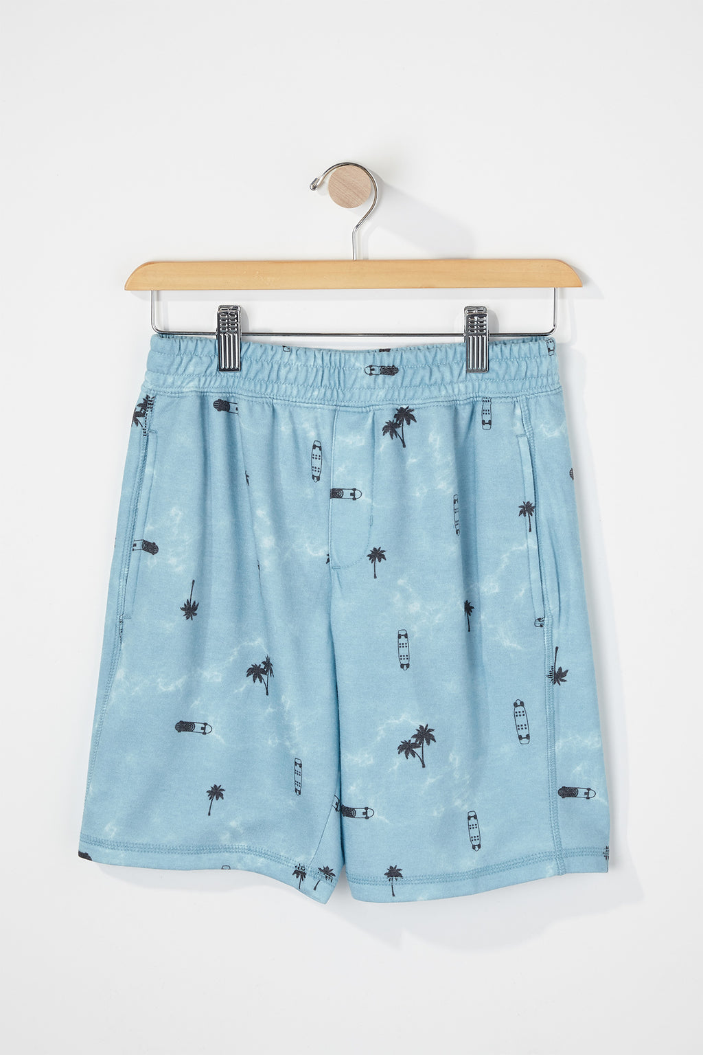 West49 Boys Tie-Dye Jogger Shorts