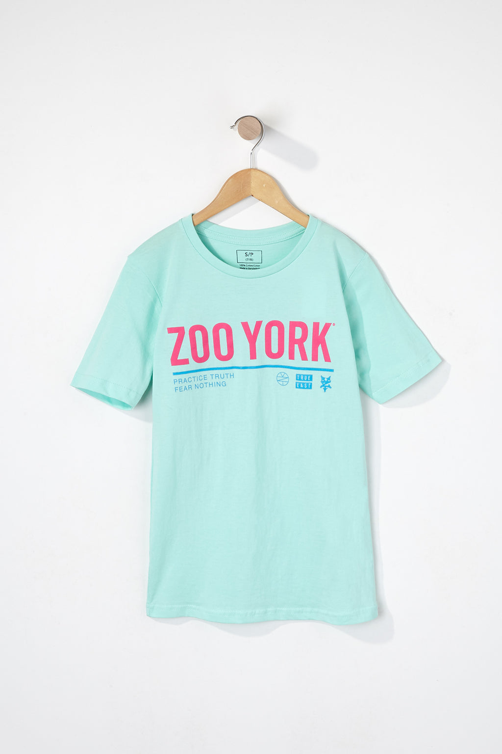 Zoo York Boys Neon Logo T-Shirt