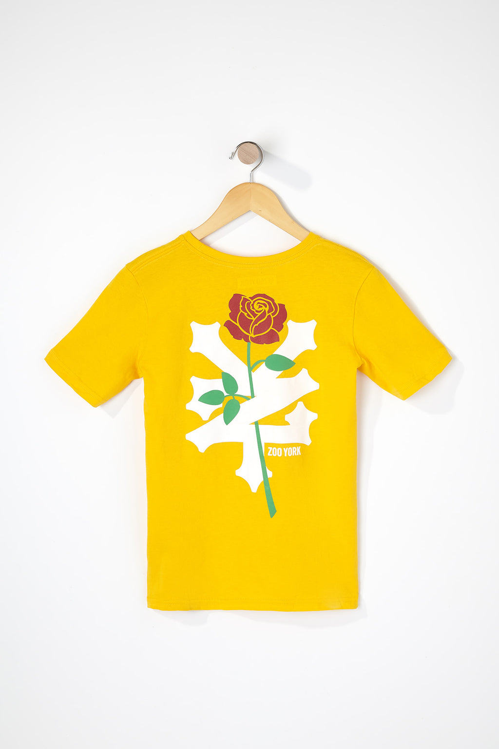 Zoo York Boys Rose Logo T-Shirt