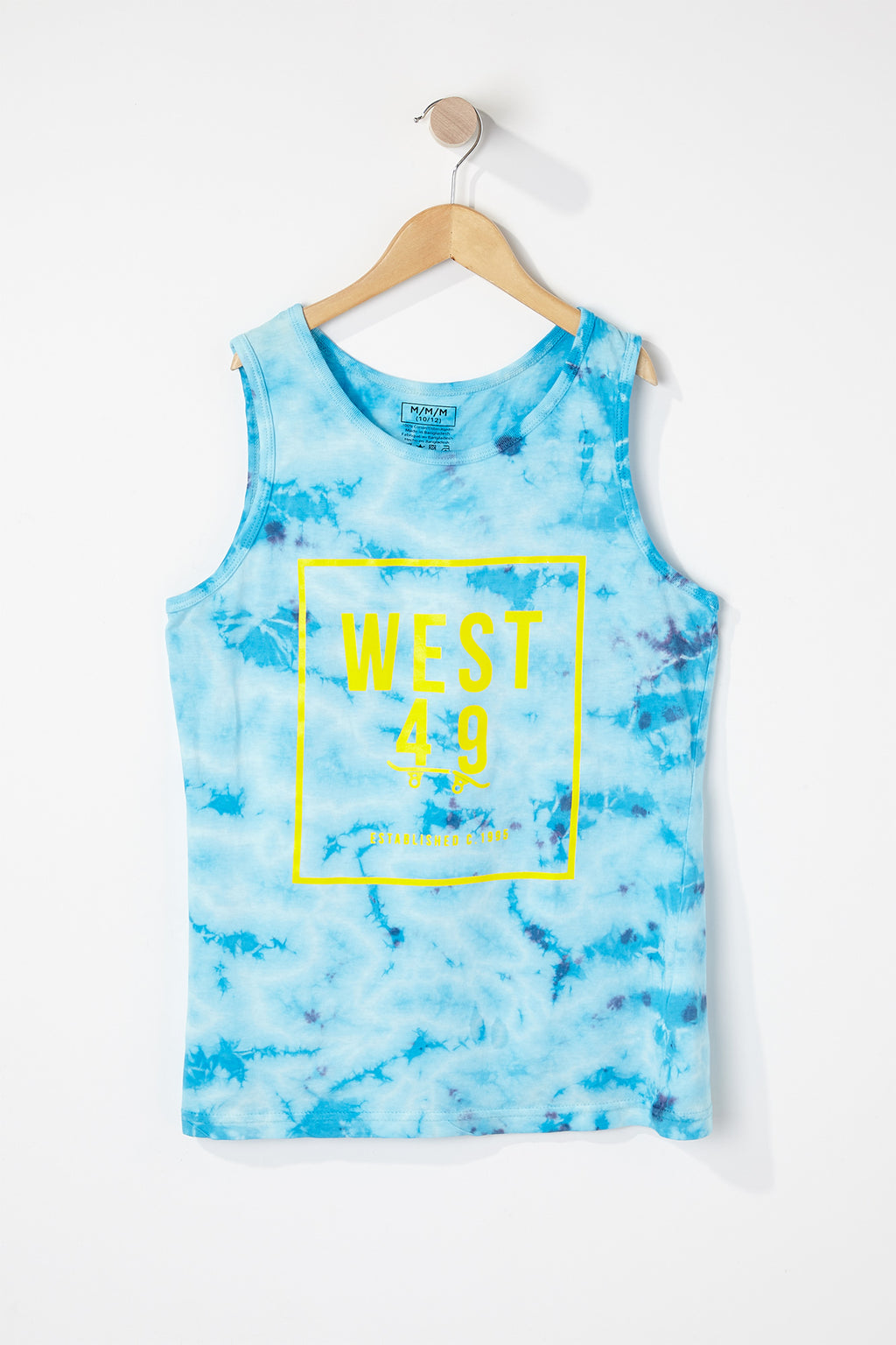 West49 Boys Front Box Logo Tank Top