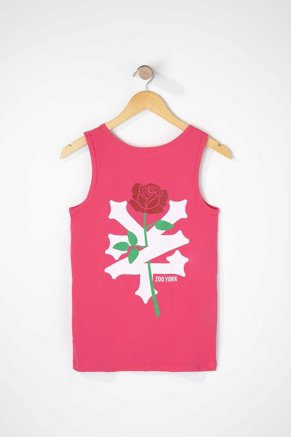 Zoo York Boys Rose Logo Tank Top