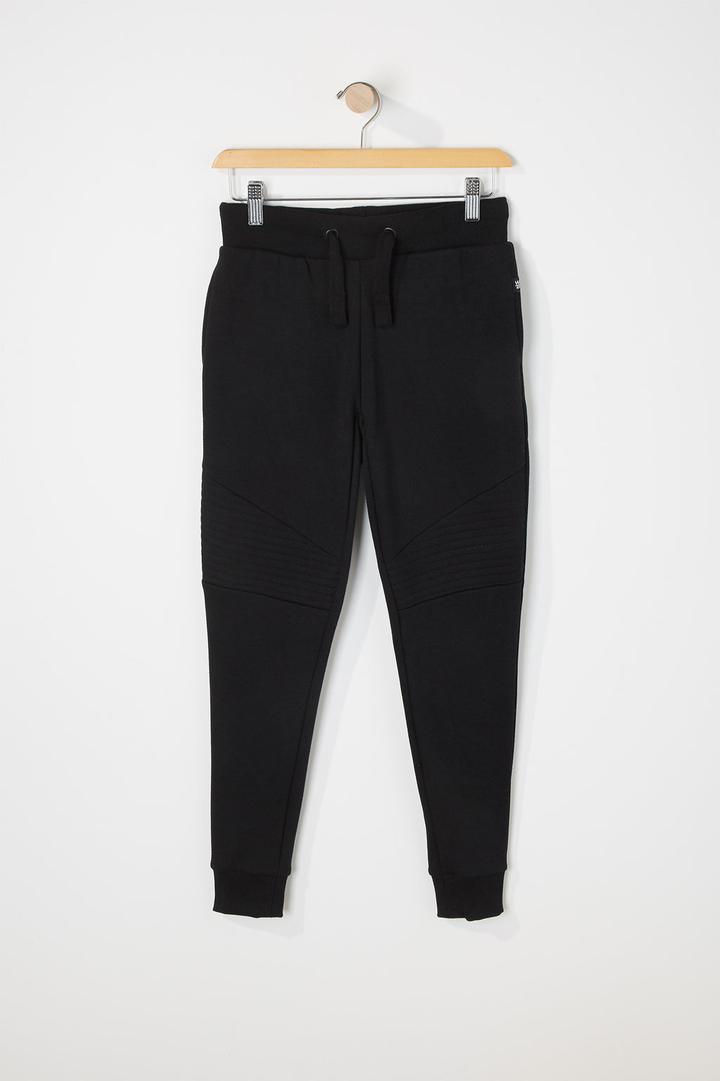 West49 Boys Solid Moto Jogger
